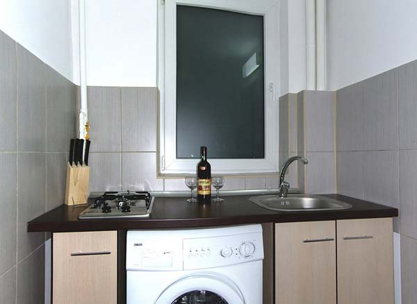 one bedroom bucharest apartments  romania accommodation modern bedrooms with white furniture